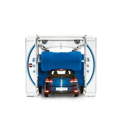 Портальная автомойка EasyWash Компактная снаружи. Весьма просторная внутри. Компактная и изящная снаружи, просторная внутри, и подходящая для мойки широких автомобилей.