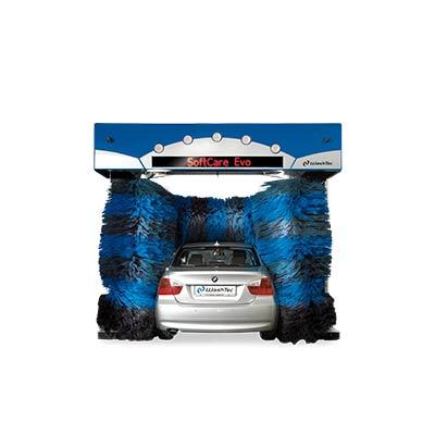 Портальная автомойка SoftCare Evo Индивидуальная модель начального уровня. Идеальный дополнительный бизнес для автосалонов, автозаправочных станций или мастерских технического обслуживания