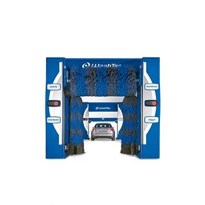 Портальная автомойка SoftCare² Takt Два расположенных друг за другом портала делают возможной одновременную мойку и сушку двух автомобилей.